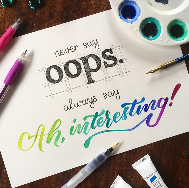 Never Say Oops