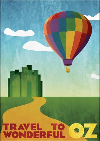 Travel Poster: Oz