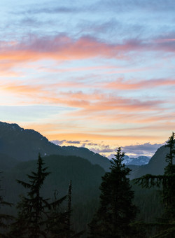 Mountain Sunset - Landscape Photography