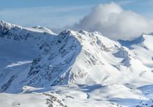 Bluebird day skiing in Whistler
