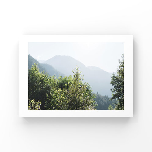 """Mountain Shadows - 18"""" x 24"""""""