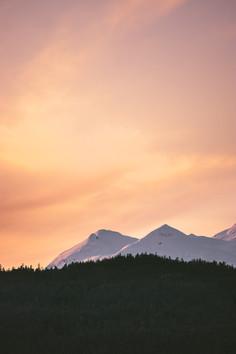 Mountain Sunset - Spirit Bird Media