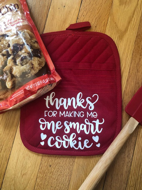 Potholder, Cookie Mix Teacher Gift