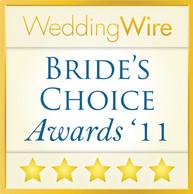 Wedding Wire - Bride's Choice Awards 2011