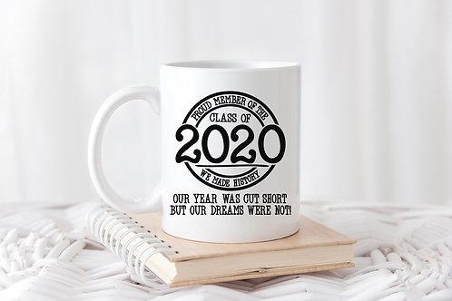 Class of 2020 Dreams Mug