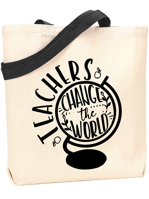 Teachers Change the World Tote