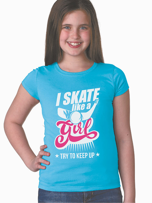 personalized products and custom gifts girl skater t-shirts