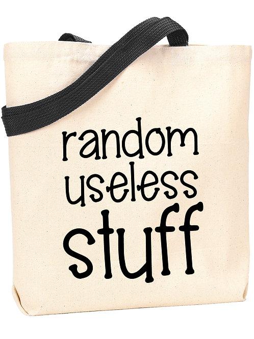Random Useless Stuff Tote