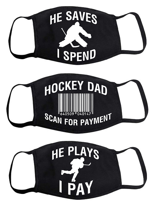 Hockey DADS PAY masks