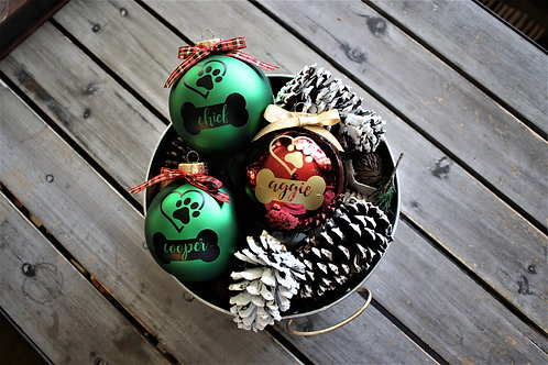 CUSTOM PERSONALIZED PET Ornaments