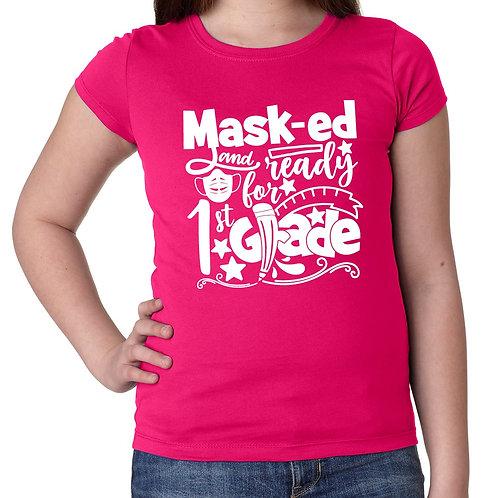 Masked & Ready Grade T-Shirt