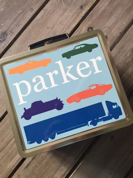 Personalized Retro Lunchbox