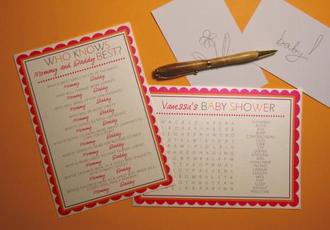 Vanessa Shower Games