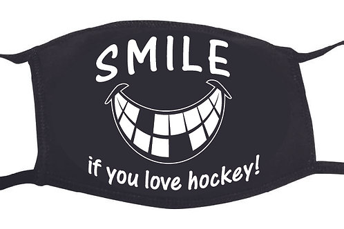 SMILE if you love hockey Mask