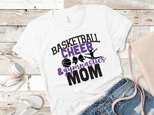 THREE or FOUR!!! Sport Mom T-Shirt