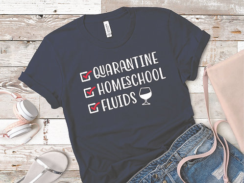 personalized products and gifts funny quarantine t-shirt