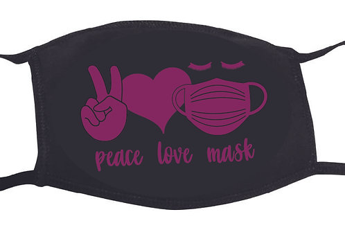 Peace Love Mask