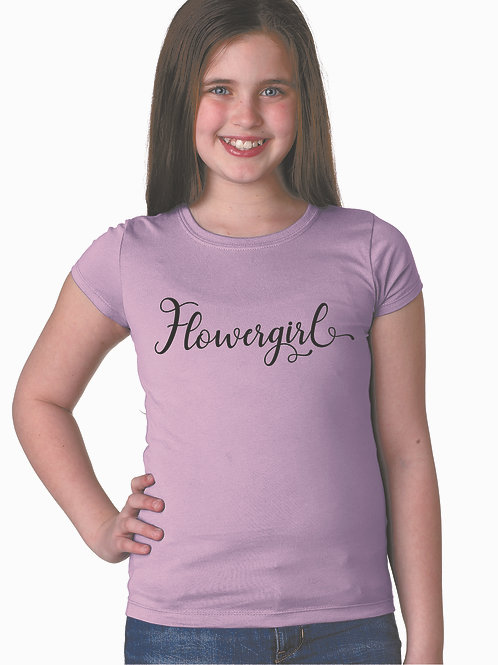 personalized products and custom gifts custom flower girl shirt