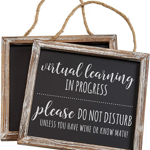 Virtual Learning Sign