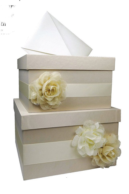 Two-Tier Card Box