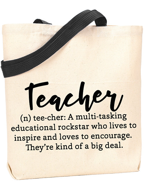 Teacher Definition Tote