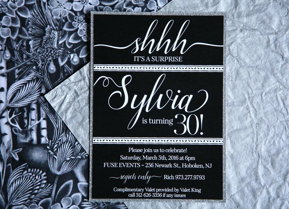 Sylvia Surprise 30th Birthday