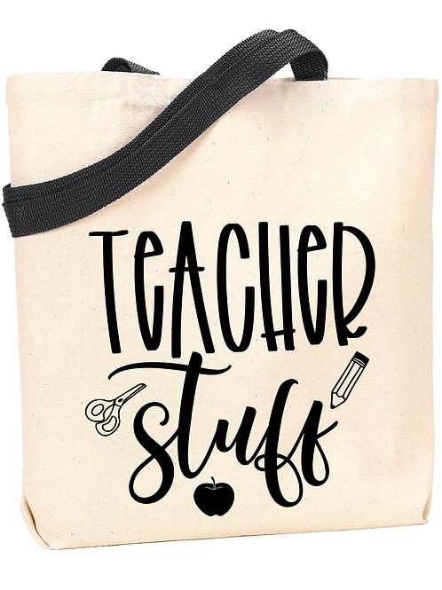 Teacher Stuff Tote