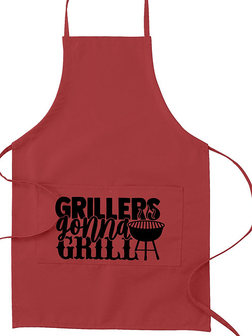 Grillers Gonna Grill Apron