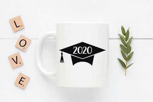 2020 Graduation Cap Mug