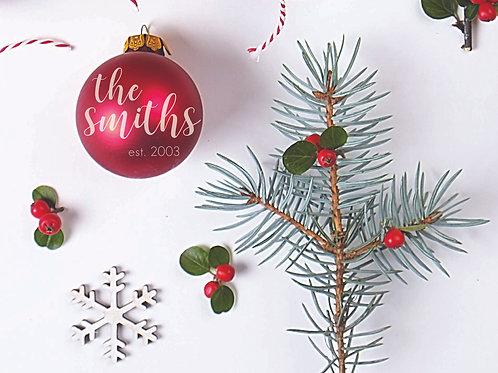 CUSTOM PERSONALIZED Ornaments