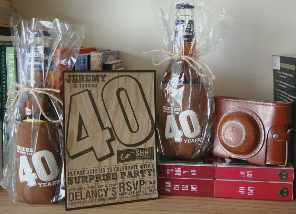 Jeremy Surprise 40th Birthday