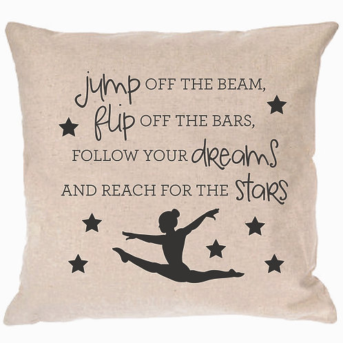 Gymnastics Poem Pillow