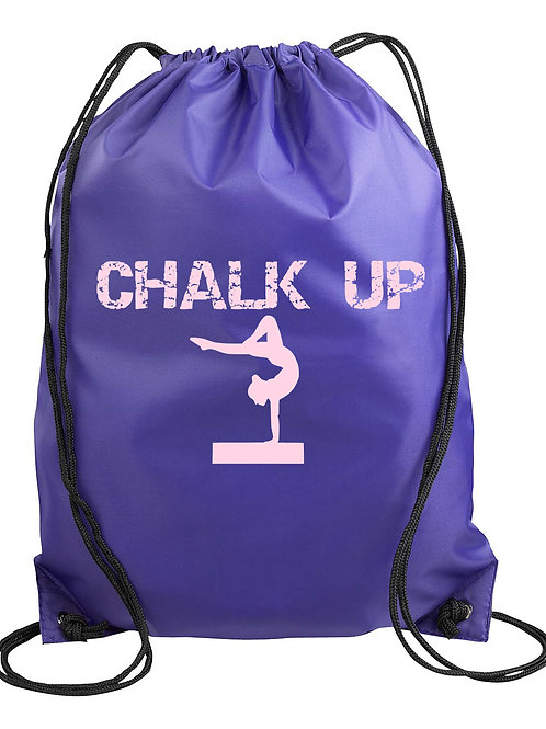 Chalk Up Drawstring Backpack