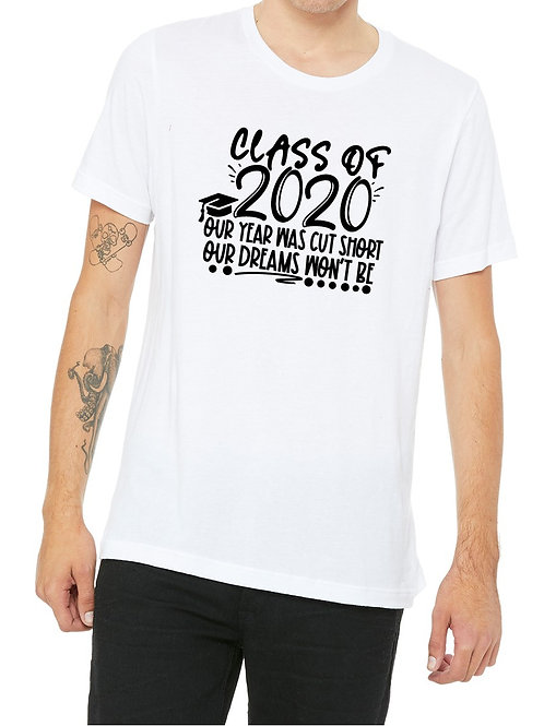 personalized products Class of 2020 t-shirts
