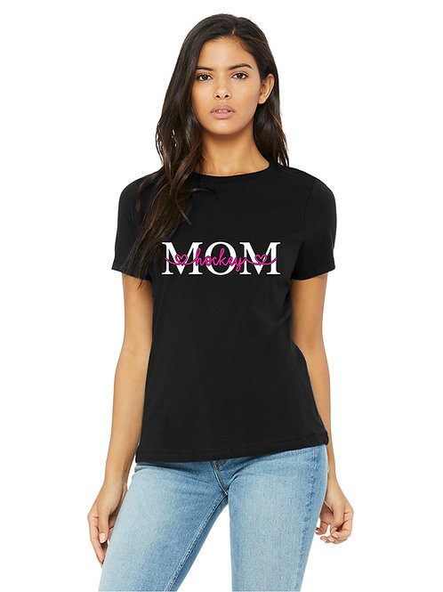 personalized products and gifts mom t-shirt black