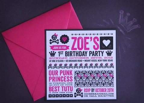 Zoe 1st Birthday