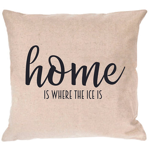 Home is Where the  ICE  is Pillow