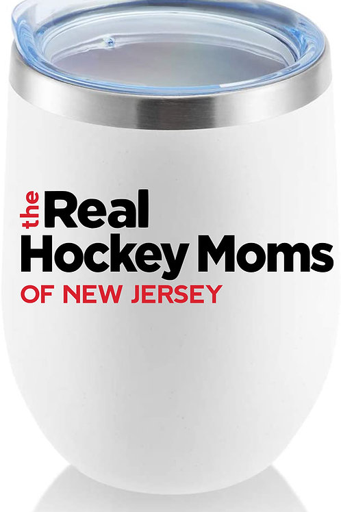 """The Real Hockey Moms"" Tumbler"