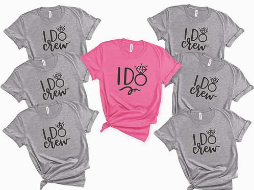 personalized products and custom gifts custom bridal party t-shirts