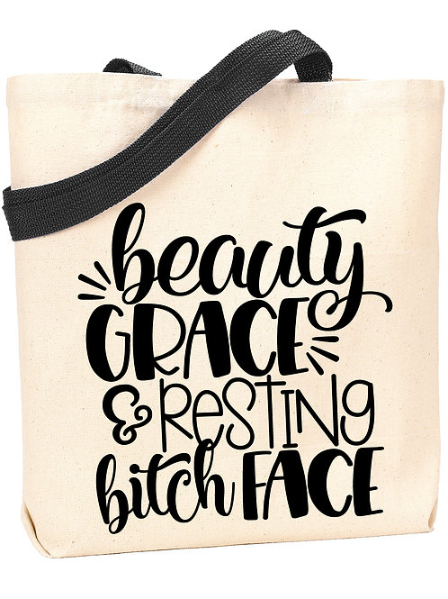 Beauty, Grace and RBF Tote