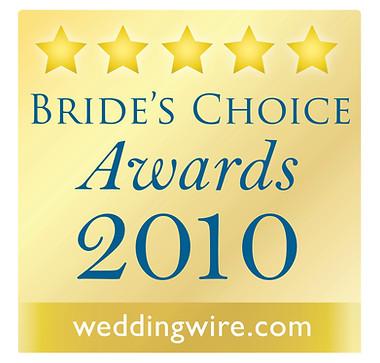 Wedding Wire - Bride's Choice Awards 2010