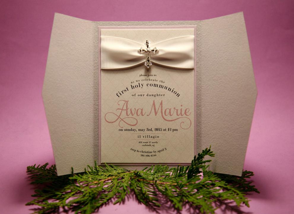 Ava Marie Communion