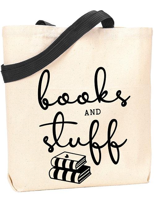 Books and Stuff Tote
