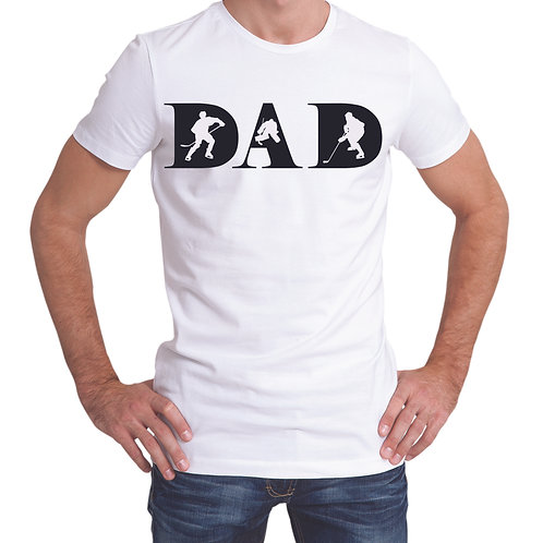 personalized products and custom gifts hockey dad t-shirts