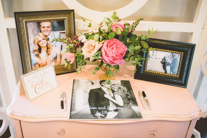 Lindsay Arnold Wedding - guest book sign