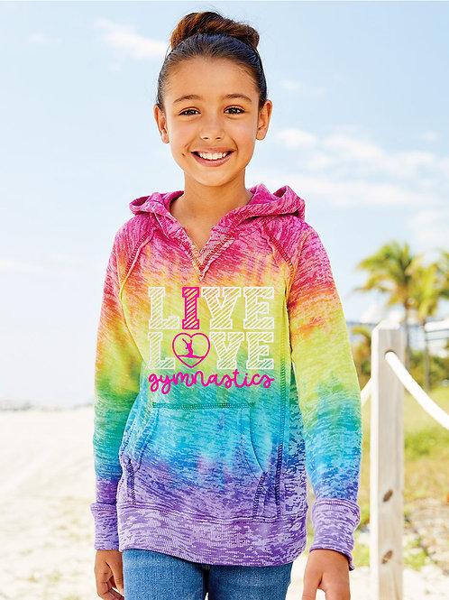 Youth Rainbow Hoodie