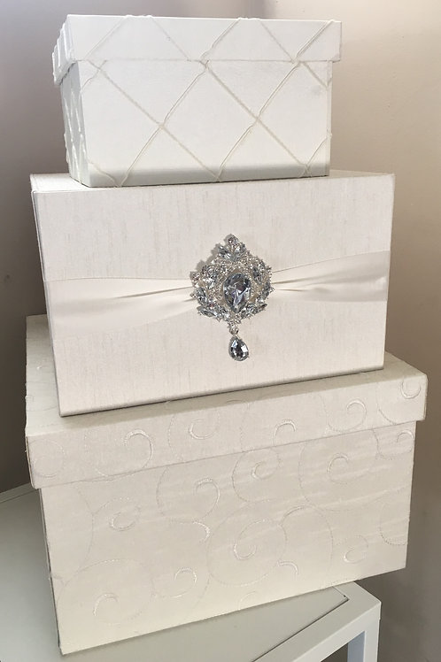 Three-Tier Card Box