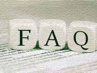 Добавлен раздел часто задаваемые вопросы (FAQ)