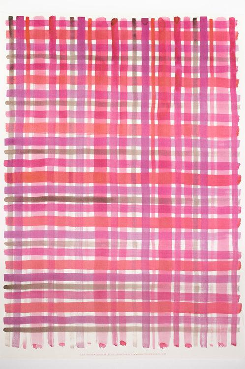C.E.R. Tartan Gift Wrapping Sheet