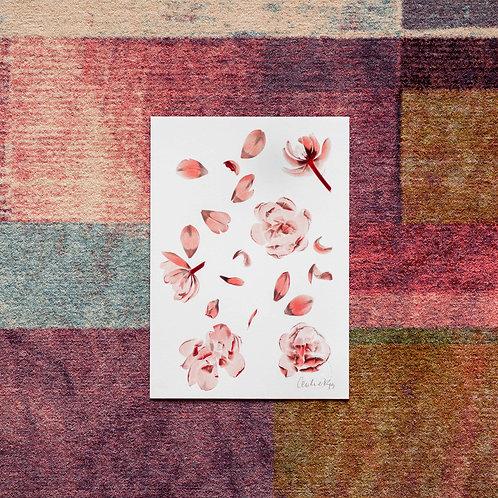 Tulipa pattern (Granat) Artwork